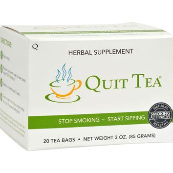 Quit Tea Stop Smoking Tea - 20 Tea Bags