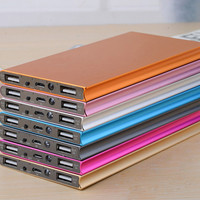 New Mobile Power Bank 12000mah powerbank portable charger external Battery 12000 mah mobile phone charger Backup powers