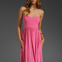 Local Celebrity Encinitas Maxi in Fuchsia from REVOLVEclothing.com