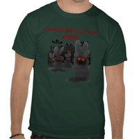 Vampire Bunnies from MARS! Tee shirt from Zazzle.com