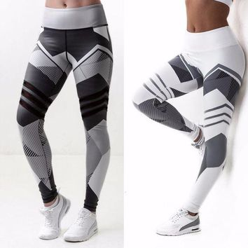 DCCKH6B 2017 New Fashion Women Leggings Legency Gothic Fitness Legging Skinny Grey High Elasticity Leggings Pantalones Mujer 3037