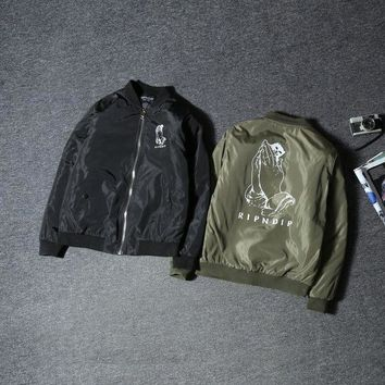 DCCKJN3 On Sale Hot Deal Sports Couple Windbreaker Jacket Baseball [103861256204]