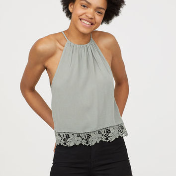 H&M Crinkled Top $14.99