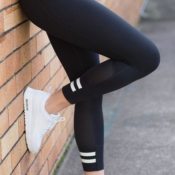 Sports High Waist Gym Yoga Pants Skinny Pants [451192291357]