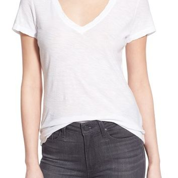 James Perse Slub Cotton V-Neck Tee | Nordstrom