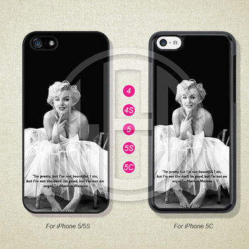 Marilyn Monroe, Phone Cases, iPhone 5S Case, iPhone 5 Case, iPhone 5C Case, iPhone 4 case, iPhone 4S case, Case For iPhone --L50644