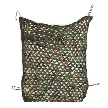 """JHO-1mx2m 39*78"""" Woodland Camouflage Camo Net Cover Hunting Shooting Camping Army"""
