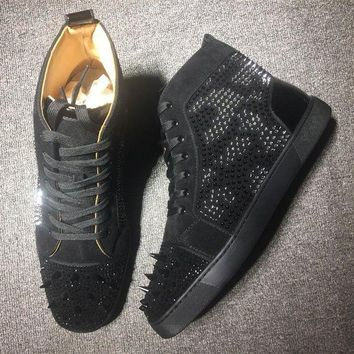 DCCK Cl Christian Louboutin Style #2114 Sneakers Fashion Shoes