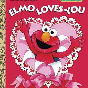 Elmo Loves You Little Golden Books