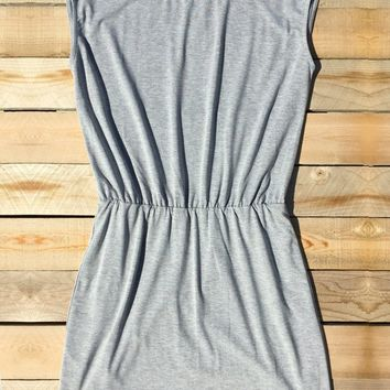 Summer Daytrip Dress in Gray