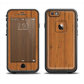 The Real Bamboo Wood Apple iPhone 6/6s LifeProof Fre Case Skin Set