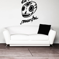 Vinyl Wall Decal Sticker Dia De Los Muertos #OS_MB489