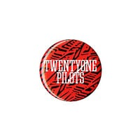Twenty One Pilots Red Pattern Pin