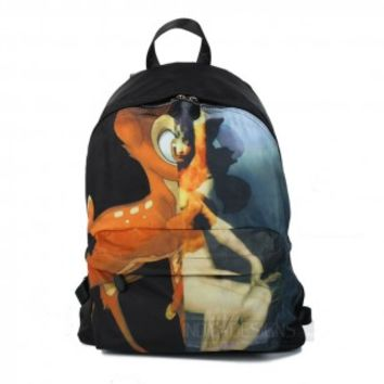 Indie Designs Givenchy Inspired Bambi Print Backpack