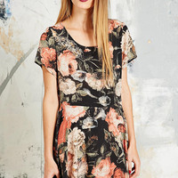 House of Hackney Midnight Garden Silk Dress - Urban Outfitters