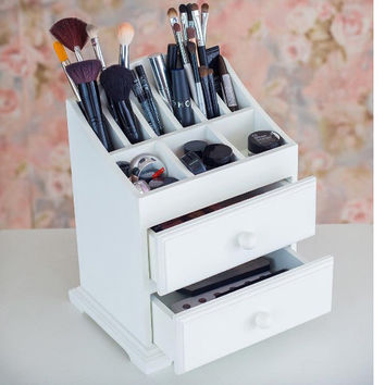 Cosmetic Makeup Organizer Makeup Holder Gifts for Her Best Christmas Gifts Beauty Station MakeUp