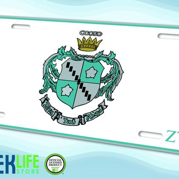 Zeta Tau Alpha Car License Plate