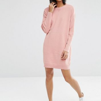 ASOS Lounge Knitted Sweater Dress at asos.com