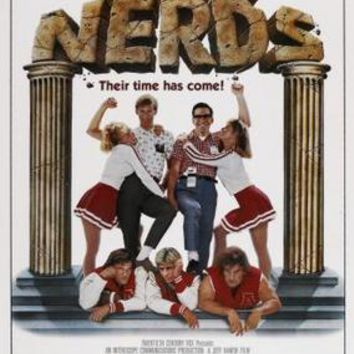 Revenge Of The Nerds Movie poster Metal Sign Wall Art 8in x 12in