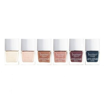 butter LONDON Cashmere Cremes Patent Shine 10X® Nail Lacquer Set ($72 Value) | Nordstrom