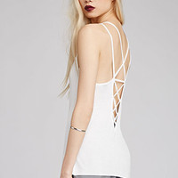 Crisscross-Back Knit Cami