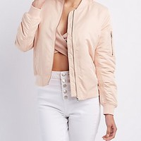 ZIP-UP BOMBER JACKET
