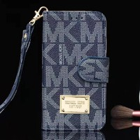 MK Michael Kors New fashion letter print couple protective cover phone case