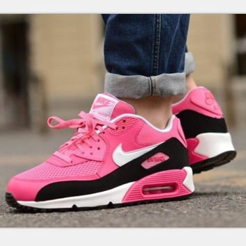 NIKE AIR MAX Women fashion sneaker sports shoes black pink red H-MDTY-SHINING