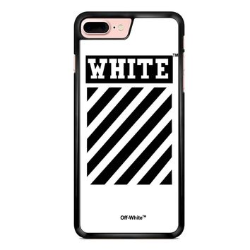 Off White White iPhone 7 Plus Case