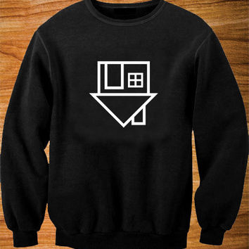 The Neighbourhood sweater Black and White Sweatshirt Crewneck Men or Women Unisex Size