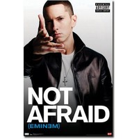 Eminem Poster I Am Not Afraid Slim Shady Recovery 5279 Collections Poster Print, 22x34