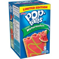 Kellogg's Pop-Tarts Frosted Watermelon Toaster Pastries, 8 count, 14.1 oz - Walmart.com