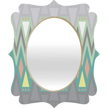 Gabi All Things New Quatrefoil Mirror