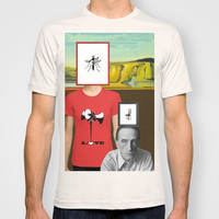 The persistence of the eternal dream of love in art. T-shirt by rodric valls