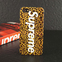 Candyspell — Supreme iPhone 5 Leopard Case