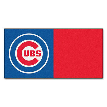 Chicago Cubs MLB Team Logo Carpet Tiles
