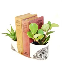 Ceramic Bookends (Set of 2)