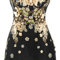 Dolce & Gabbana Embellished Daisy Dress - Julian Fashion - Farfetch.com
