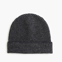 J.Crew Mens Lambswool Marled Striped Hat