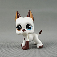 Littlest Pet Shop Without Magnet Pet DANE Dog Child Girl Figure Toy Loose Cute