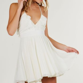Spring Fling Ruffle Dress