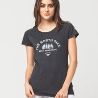 THE NORTH FACE Keep Wandering Womens Tee | Graphic Tees