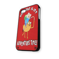 adventure time what time is it iPhone 4/4S Case