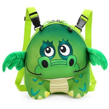 9 character eva school backpack zip child hand bag animal children school bag for  3-7years for kindgarden  (SB15-2)
