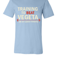 Training to Beat Goku - Unisex T-shirt