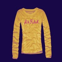 Abercrombie and Fitch Womens Long Tees 011 Cheap Sale In Hollister UK