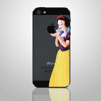 Snow White--iPhone sticker iPhone decals iPhone 5 skin decals iPhone cover Apple vinyl Decals for apple iPhone 4 / iPhone5S