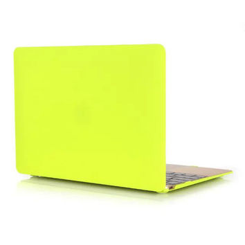 12 colors Frosted Surface Case For Apple Macbook Air 11 13  laptop case For Mac book pro 13 15 Retina 12 13 15 cover