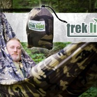 Trek Light Gear Double Hammock - The Original Brand of Best-Selling Nylon Hammocks - Extra Wide for the Most Comfort - Can Help With Insomnia and Sleep Apnea