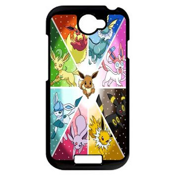 Pokemon The Eeveelutions HTC One S Case
